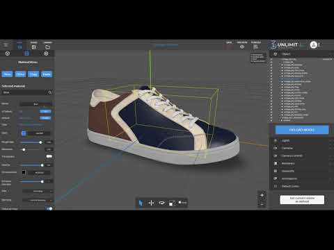 Unlimited3D platform - How to Publish a 3D Solution