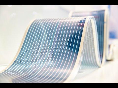 Flexible organic photovoltaics for energy harvesting