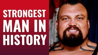 EDDIE HALL - THE STRONGEST MAN IN HISTORY: How You Can Overcome Anything In Life - Part 1/2 | LR