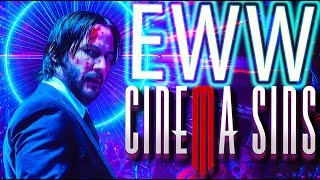 Everything Wrong With CinemaSins: John Wick 3 Parabellum in 16 Minutes or Less