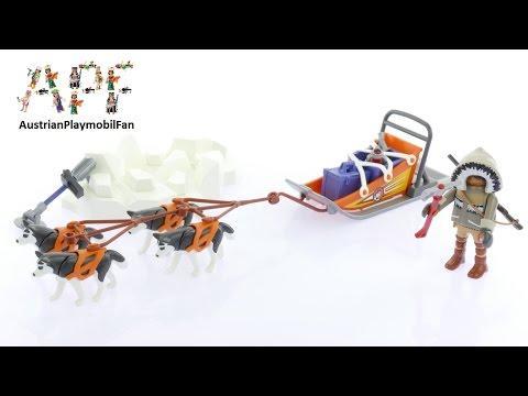 Vidéo PLAYMOBIL Action 9057 : Explorateur avec chiens de traineau