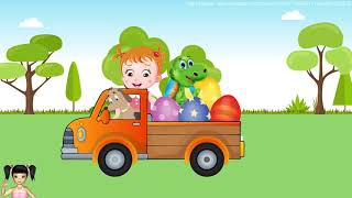 BabyBus - Tiki Mimi và Hoạt hình chú chó tinh nghịch và bạn khủng long dễ thương