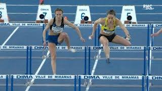 Miramas 2019 : Finale 60 m haies F (Sacha Alessandrini en 8''02)