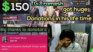 telugugamer got huge donations in life time | thanks to all donator's| haters stay away |abiMANyU YT