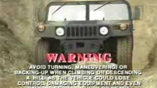 HMMWV Driver's Familiarization part 3