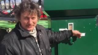 Екологічні машини для очищення зерна ІСМ ЦОК від компанії ХЗЗО - виробник аеродинамічних сепараторів ІСМ та ІСМ-ЦОК - відео 2