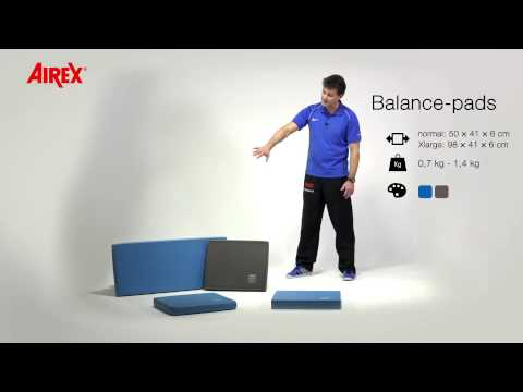 AIREX presents: Use and advantages of AIREX balance pads