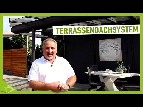 Terrassendachsystem - die beliebtesten Terrassenüberdachungen - Ambitop Terrassendach