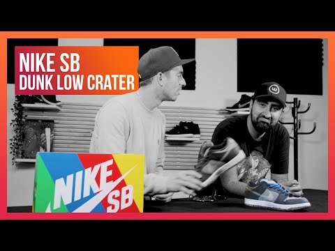 On te présente des sneakers eco-friendly (Nike SB Dunk Low Crater)