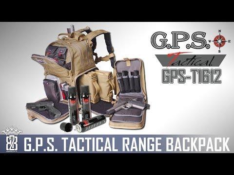 GPS T1612 Range Bag - Waffentasche - Rucksack Sportschütze Airsoftgame