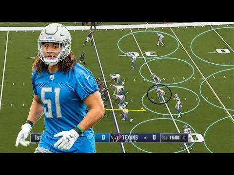 Film Study: Breaking down rookie Detroit Lions Linebacker Jahlani Tavai's 2nd preseason performance