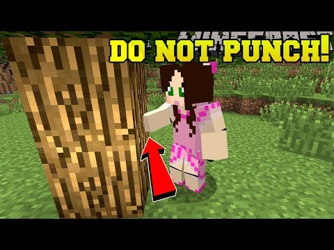 , title : 'Minecraft: *NEVER* PUNCH TREES! - CENTER OF THE FOREST - Custom Map'