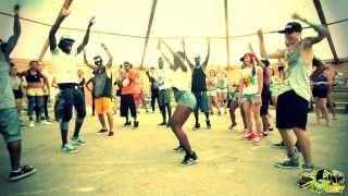 """P-SQUARE - ALINGO"" DANCEHALL WORKSHOP BY ANDREY BOYKO & LIL'JAZZ IN BIGUP KEMP EUROPE 2013!"