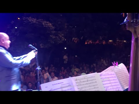 Tu ni te imaginas (En vivo) - Cheo Andujar  (Video)