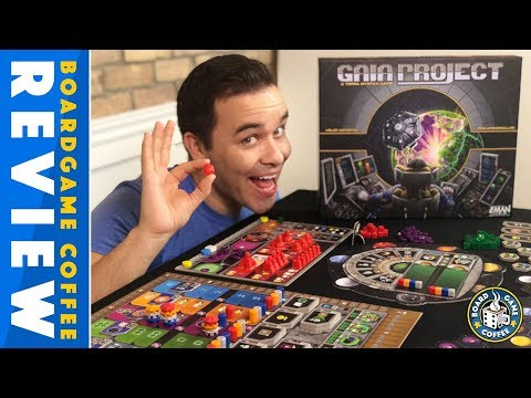 Gaia Project Review with Board Game Coffee