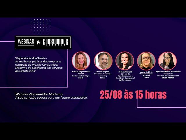 Webinar CM com Sabin, Livelo, White Martins e Magalu – As melhores práticas das empresas campeãs do Prêmio CM 2021