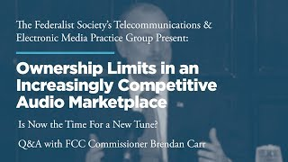 Click to play: Q&A Session with FCC Commissioner Brendan Carr