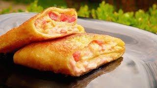 Вкуснее, чем Пицца! Простой рецепт Быстрой Начинки для блинов.Ооочень Вкусно!