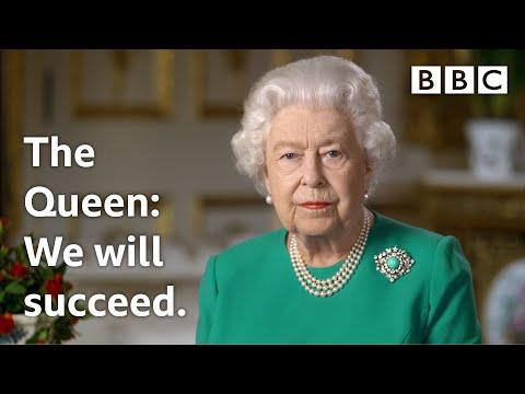 Projev britské královny Alžběty II. ke koronavirové pandemii