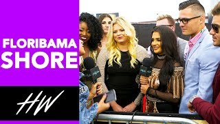 FLORIBAMA SHORE Cast Plays Kiss, Marry or Friendzone at the MTV Movie Awards !! | Hollywire