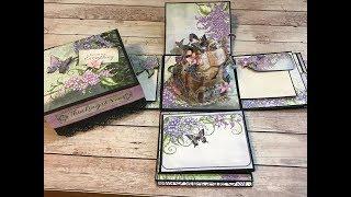 HEARTFELT CREATIONS EXPLOSION BOX   ALBUM SHELLIE GEIGLE
