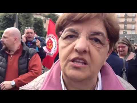 Carmela Tascone della Cisl al Primo Maggio