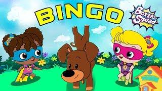 Bingo Dog Song | Kindergarten Nursery Rhymes | Songs For Kids | Baby Rhymes | Bottle Squad Videos