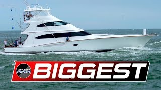 The Biggest Sportfishing Yachts / White Marlin Open / 70 To 97