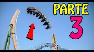 🔴 Os Mais TENSOS Acidentes Em Parques De Diversões! PARTE 3