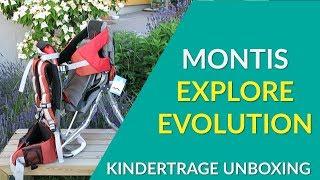 Montis Explore Evolution Tragerucksack Test / Unboxing / Produktvorstellung - wie gut ist er?
