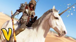 ASSASSINS CREED ORIGINS BEST MOUNT! Assassin's Creed Origins Funny Moments!