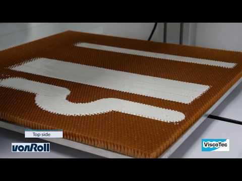 Vollautomatisierte Dosierlösungen für Honeycomb Potting