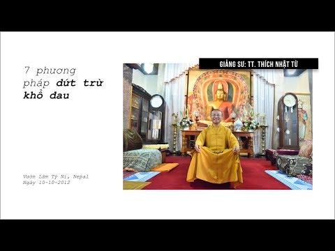 Bảy phương pháp dứt trừ khổ đau (10/10/2012) Thích Nhật Từ