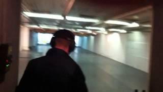 Ozan Yasin Dogan Shooting with Glock G34, Half Smiley :)