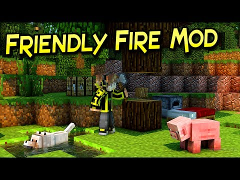 Friendly Fire Mod| No Lastimes Mas A Tus Mascotas  | Minecraft 1.12 – 1.7.10 | Mod Review En Español