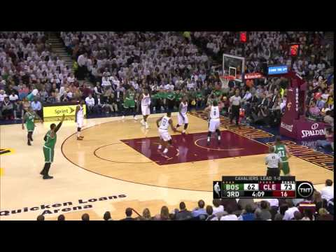 NBA, Playoff 2015, Cavaliers Vs. Celtics, Round 1, Game 2, Move 38, Kevin Love, Block