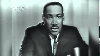 Martin Luther King Jr On Non Violent Resistance. Meet The Press April 17, 1960