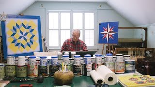 Painting Quilt Squares Brings This 94-Year-Old Real Joy | Southern Living