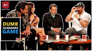 Yamla Pagla Deewana Phir Se Movie  Star Cast Played A Fun-filled Dumb Charades Round
