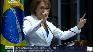 Ângela Portela denuncia descaso das companhias aéreas com passageiros de Roraima