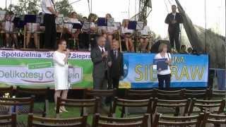 preview picture of video 'Siepraw-otwarcie Domu Kultury i Kompleksu Sportowego,Słoneczny Park.'
