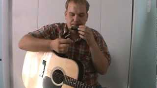 """LOST JOHN"" DOC WATSON COVER by Jake Moyer"