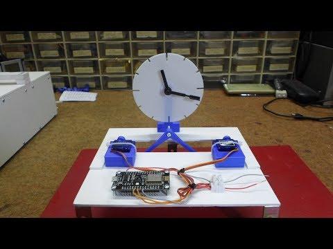 Download 3d Printed Kinetic Servo Clock | MP3 Indonetijen