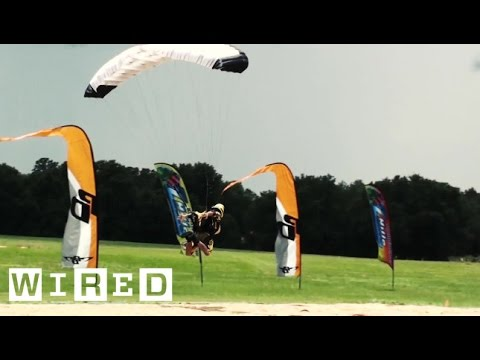 Skydive Swooping is Next Level Competition