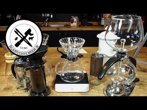 Kaffeezubereitung im Hario v60 Kaffeefilter - HowTo