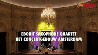 Rafet Rudi: Humoresques By Ebonit Saxophone Quartet   Remusica Festival 2020