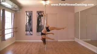 Pole Dance Routine to Hallelujah Kate Voegele Intermediate Advanced Level