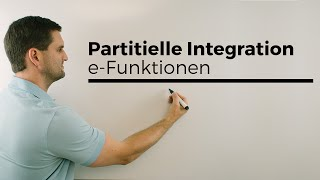 Partielle Ableitung e-Funktion, Produktregel, Kettenregel, 1 ...