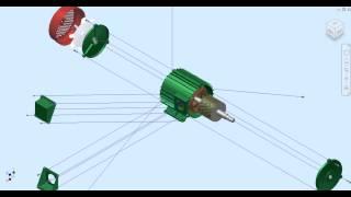 Video Mô phỏng lắp ráp động cơ
