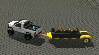 Project OFFROAD Езда по БЕЗДОРОЖЬЮ на монстр тачках #1 VIDEO FOR KIDS cars gameplay игра про машинки